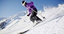 ski for experts and beginners